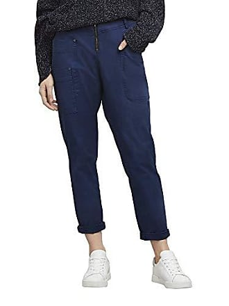 Kenneth Cole Womens Zip Front Pant, Billboard Blue HTR, 10