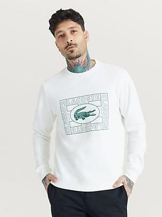 Lacoste Sweatshirt Big Logo Sweatshirt Vit