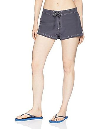 ZeroXposur Womens Plus Size Stretch Woven Short Bottom with Brief, Slate, 20W