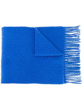 Acne Studios Echarpe com franjas - Azul