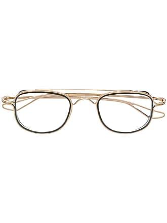Dita Eyewear Armação de óculos aviador - Dourado