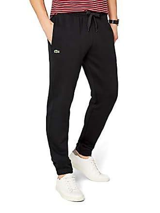 e560be8480023 Lacoste Regular Sweat Pants - Pantalon De Sport - Relaxed - Homme - Noir  (Black