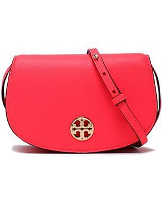 d188f822345 Tory Burch Tory Burch Woman Embellished Leather Shoulder Bag Bright Pink  Size
