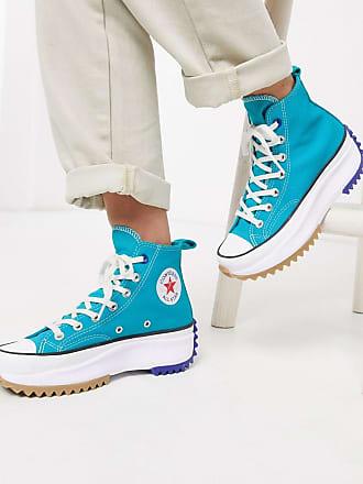Converse Run Star Hike - Blaue Sneaker