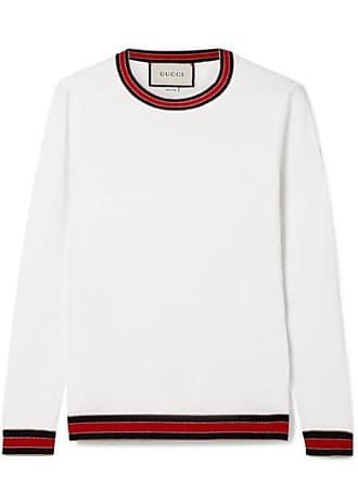 5eea95f1d9e Gucci Striped Wool Sweater - Ivory