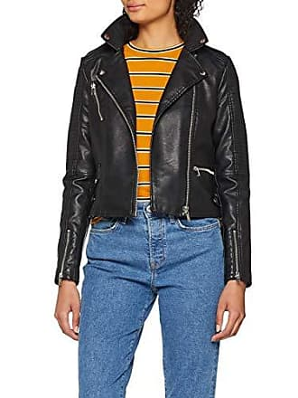835a3b745c08 Vero Moda Damen Jacke VMAPRIL Short Faux Leather Jacket NOOS