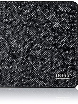 HUGO BOSS BOSS Mens Signature 4 Cc Coin Purse, Black, 2 x 9.5 x 11 cm