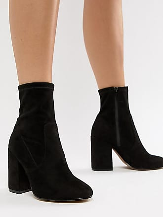 9f46b9a4369903 Asos Eastern - Sock-Boots in weiter Passform - Schwarz