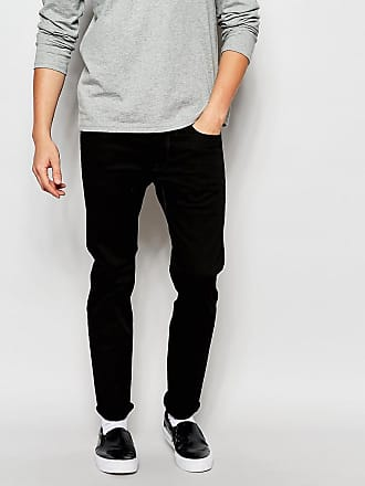 G-Star Jeans 3301 Turner - Svarta slim fit jeans med stretch - Rå 672a24b727c7a