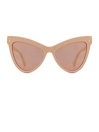 c9b7a9ea64b39 Stella McCartney Mirrored Cat Eye in Pink