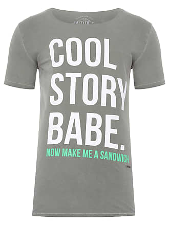 PURPLE YELLOW CAMISETA MASCULINA COOL STORY BABE - VERDE