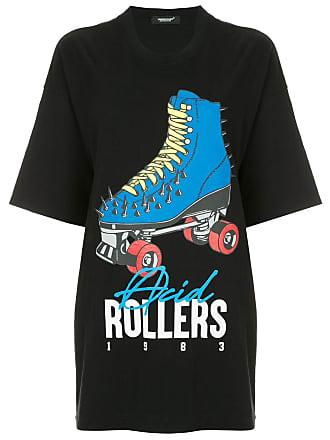 Undercover Camiseta Roller Skate - Preto