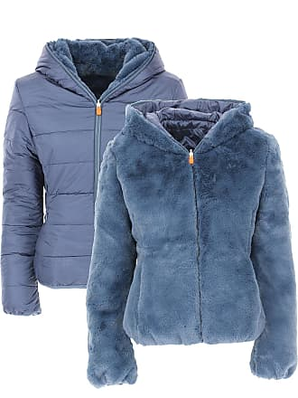 Save The Duck Jacket for Women On Sale, Space Blue, Nylon, 2017, 0 (XS - 38/40)