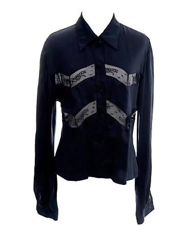 5bffb6d8a35e6b Valentino Fine Silk Lace Vintage Blouse Italy