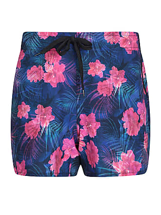 5481a6d485 Mountain Warehouse Patterned Womens Stretch Board Shorts - Lightweight  Ladies Swim Shorts, Breathable Summer Swimwear