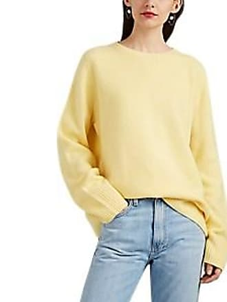 50873a13f4 The Row Womens Sibel Wool-Cashmere Crewneck Sweater - Yellow Size XS