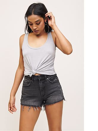 Dynamite Distressed Cut-off Denim Short Maisie