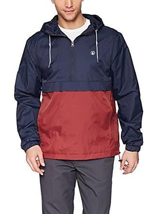 Volcom Mens HALFMONT Lightweight Jacket, Navy, Small