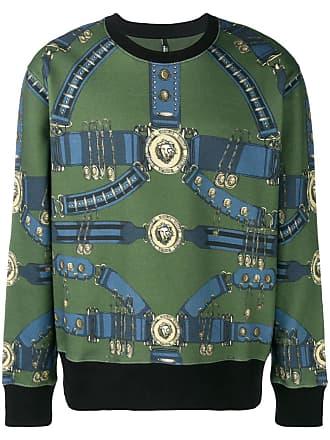 Versus Heritage Belt print sweatshirt - Green