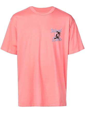 Just Don Camiseta com estampa Island Exotic - Rosa
