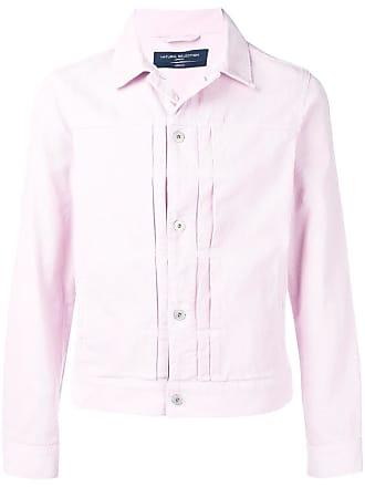 Natural Selection Jaqueta bomber jeans - Rosa