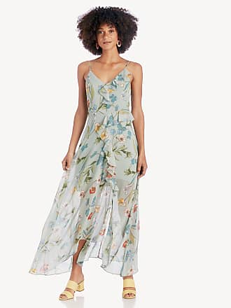 67c55f40659 Astr Womens Sienna Dress In Color  Sage White Floral Size Large From Sole  Society