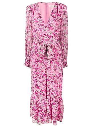 Michael Kors floral waist-tied jumpsuit - Pink