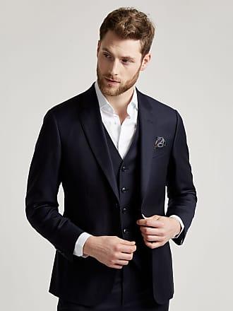 Hackett Mens Classic Wool Suit | Size 36Regular | Charcoal