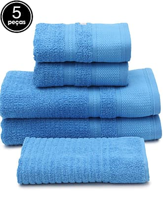 Buddemeyer Jogo de Banho 5pçs Buddemeyer Windsor Azul
