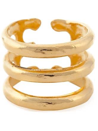 Aurélie Bidermann Anel banhado a ouro 18kt - Metálico