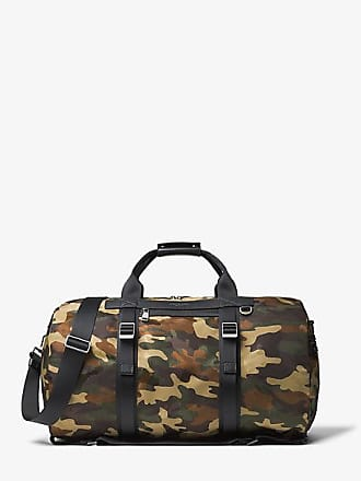 Michael Kors Mens Kent Camouflage Nylon Convertible Duffel Bag
