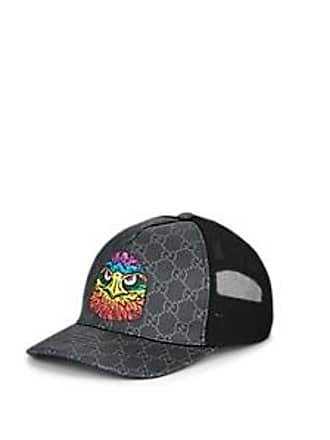a8a436b819b Gucci Mens Coated Canvas   Mesh Trucker Hat - Black Size M