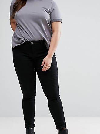 Junarose skinny jean in black - Black
