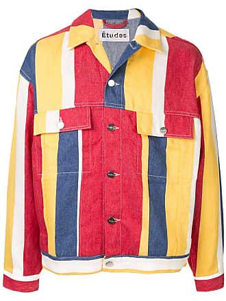 Études Studio striped jacket - Multicolour