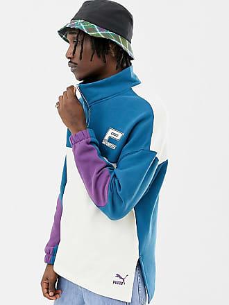 Puma Exclusivité ASOS - Sweat-shirt en coton bio à col zippé ... dd00e4adfaba