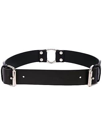 032c adjustable buckle belt - Black