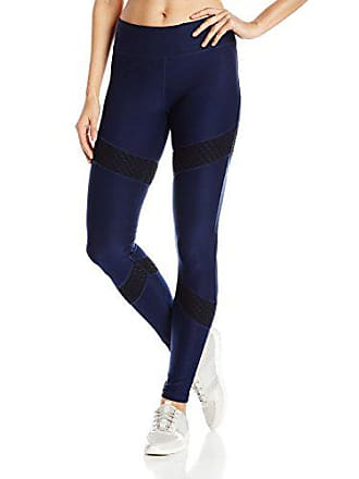 ee8ce7946a67e Gottex Womens Color Block Long Legging with Big Fishnet Mesh, Navy S