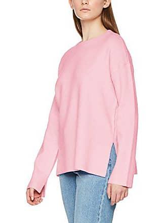 f106533aec Vero Moda Damen VMJULIE LS O-Neck Slit Blouse Boo Pullover, Rosa (Rose