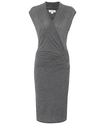Velvet Omega cotton-blend dress