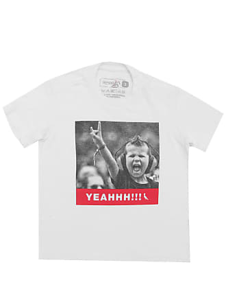Reserva Mini Camiseta Reserva Mini Menino Estampa Branca