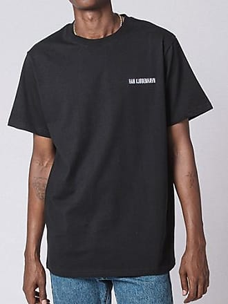 Han Kjobenhavn Hans Kjobenhavn Casual Tee - large | cotton | black - Black/Black