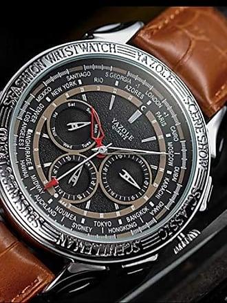 Yazole Relógio Grande Masculino Yazole D444 Social (5)