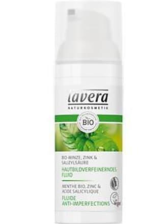 Lavera Tagespflege Bio-Minze, Zink & Salizylsäure Hautbildverfeinerndes Fluid 50 ml