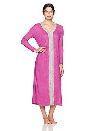 Karen Neuburger Womens Long Sleeve Maxi Dress Sleepshirt Pajama PJ 853727614