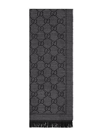 Gucci Sciarpa in lana GG jacquard e36c56f763b4