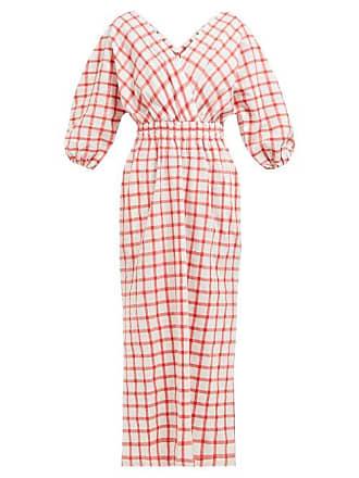 Mara Hoffman Nami Organic Cotton Gauze Midi Dress - Womens - White