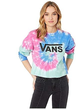 Vans Dye Job Crop Crew (Tie-Dye) Womens Clothing