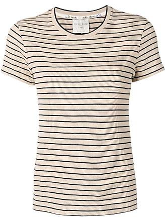 Forte_Forte classic striped T-shirt - Neutro