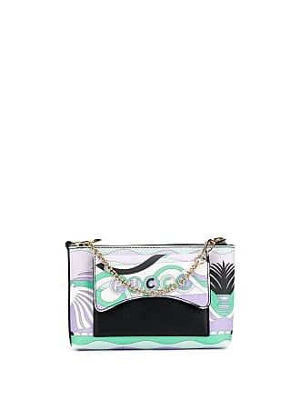 625a75938b85 Emilio Pucci La Villa Print Micro Shoulder Bag - Purple. In high demand