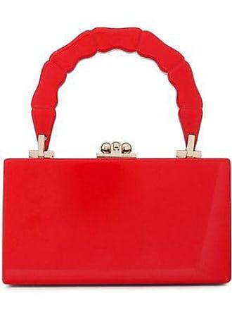cd96686d97 Edie Parker Edie Parker Woman Jean Acrylic Box Clutch Red Size